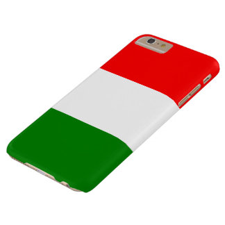 Italian Flag of Italy Bandiera d'Italia Tricolore Barely There iPhone 6 Plus Case
