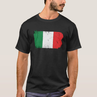 Italian Flag over Pennsylvania T-Shirt