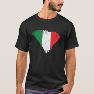 Italian Flag over South Carolina T-Shirt
