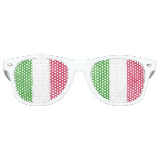 Italian Flag Party Sunglasses