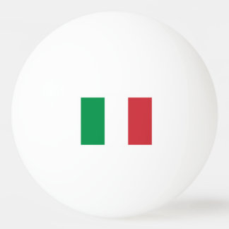 Italian flag ping pong balls for table tennis