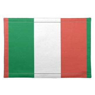 italian flag placemat