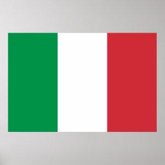 Italian Flag Print