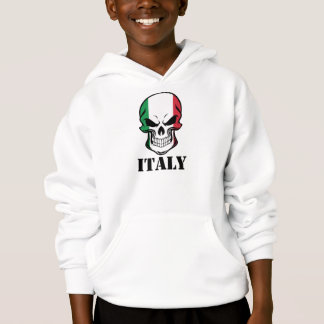 Italian Flag Skull Italy