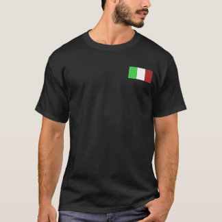 ITALIAN FLAG TEE T SHIRT