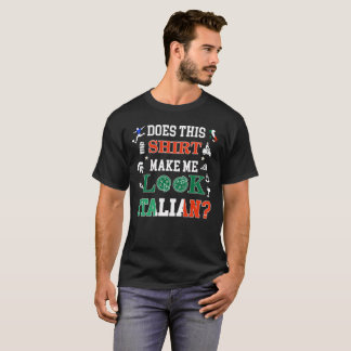 Italian flag teeshirt with map of Italy for the pr T-Shirt