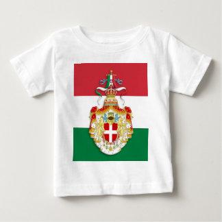 Italian Flag with insignia of the Kingdom of Italy Baby T-Shirt