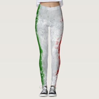 Italian Flag Womens Leggings