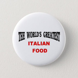 Italian food 2 inch round button