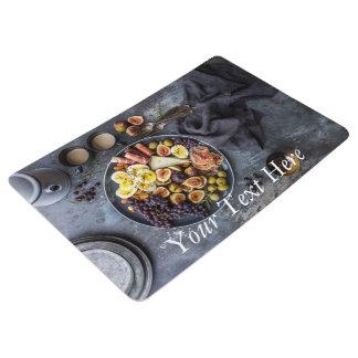 Italian Food and Coffee Floor Mat