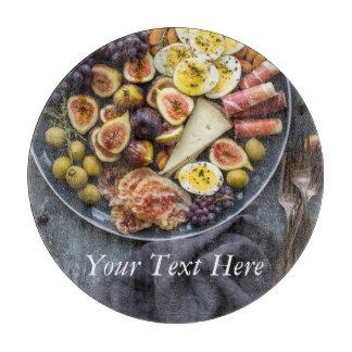 Italian Food Selection Cutting Board