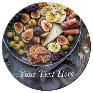 Italian Food Selection Plate