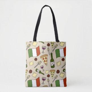 Italian Food Tote