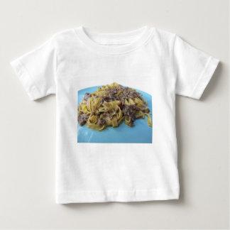 Italian fresh fettuccine or tagliatelle pasta baby T-Shirt