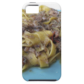 Italian fresh fettuccine or tagliatelle pasta iPhone 5 cases