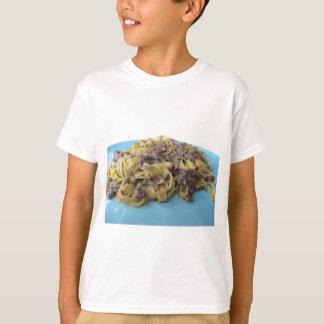 Italian fresh fettuccine or tagliatelle pasta T-Shirt