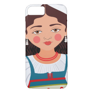 Italian Girl Matryoshka Case