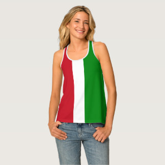 Italian Girl Tank Top Shirts