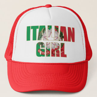 Italian Girl Trucker Hat
