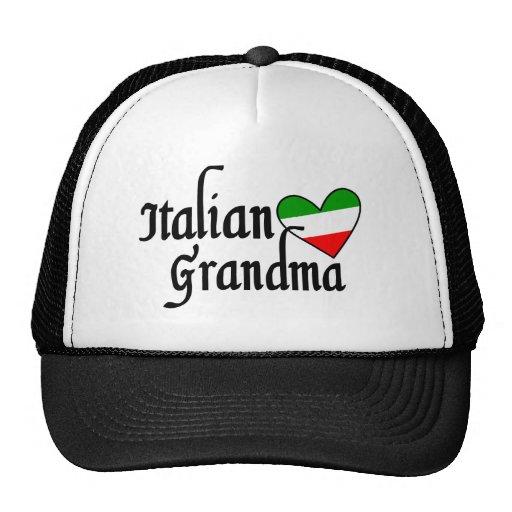 Italian Grandma T-shirt Trucker Hats