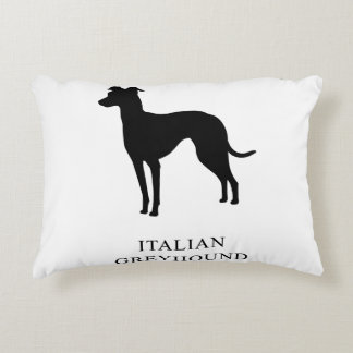 Italian Greyhound Accent Pillow