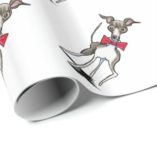 Italian Greyhound Antonio Wrapping Paper