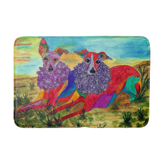 Italian Greyhound Bath Mat (You can Customize)
