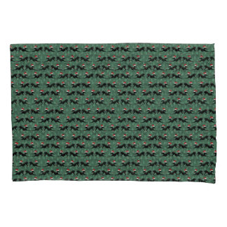 Italian Greyhound Christmas Dog Pillowcase