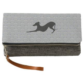 Italian Greyhound Clutch Purse