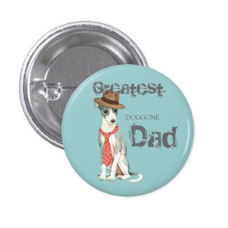 Italian Greyhound Dad 1 Inch Round Button