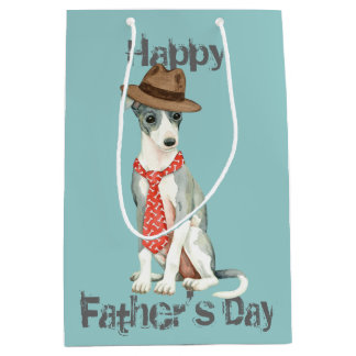 Italian Greyhound Dad Medium Gift Bag