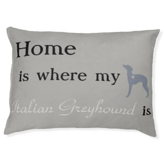 Italian Greyhound Dog Bed- Pet Bed