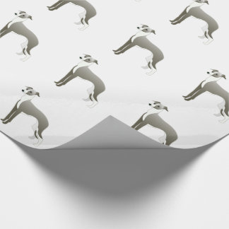 Italian Greyhound Dog Breed Illustration Silhouett