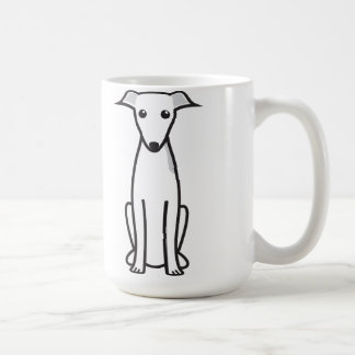 Italian Greyhound Dog Cartoon Coffee Mug