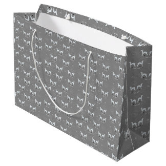 Italian Greyhound Dog Gift Wrap Bag Iggy wrapping