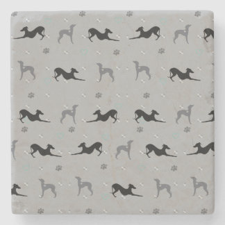 Italian Greyhound Dog Iggy Coaster Print