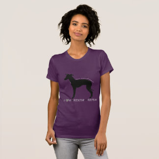 Italian Greyhound Dog Rescue Shirt, Iggy Clothing T-Shirt