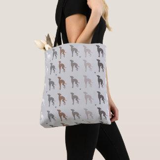 Italian Greyhound Dog Tote Grocery Bag Iggy Rescue