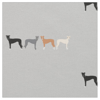 Italian Greyhound Fabric Iggys