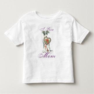 Italian Greyhound Heart Mom Toddler T-shirt
