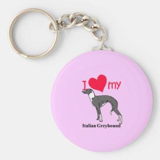 Italian Greyhound (Iggy) Keychain