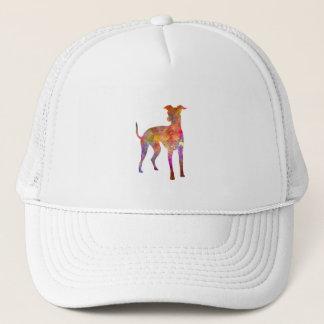Italian Greyhound in watercolor Trucker Hat
