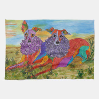 Italian Greyhound Kitchen Towel