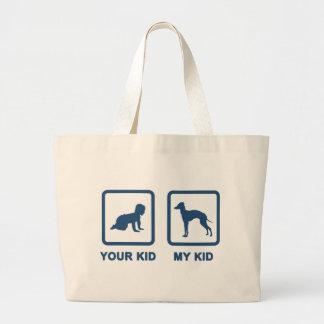 Italian Greyhound Large Tote Bag