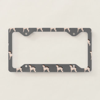 Italian Greyhound Licence Plate License Plate Frame