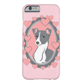 Italian Greyhound Love Pink iPhone 6/6s Case