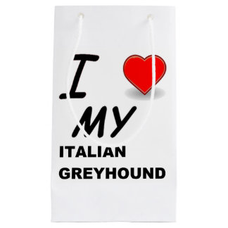 italian greyhound love.png small gift bag