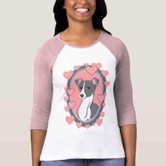 Italian Greyhound Love Women's Raglan T-Shirt