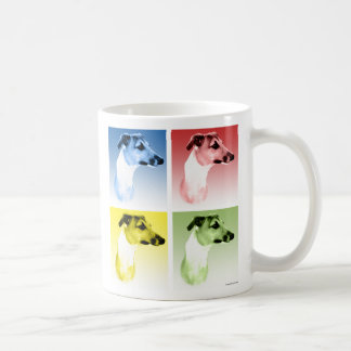 Italian Greyhound Popart Coffee Mug