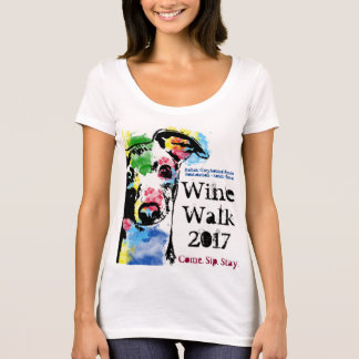 Italian Greyhound Rescue women's scoop neck tee